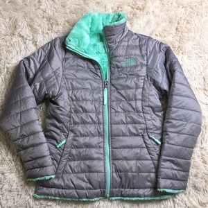 Kids reversible North-face jacket😍